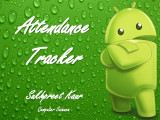Android App: Attendance Tracker